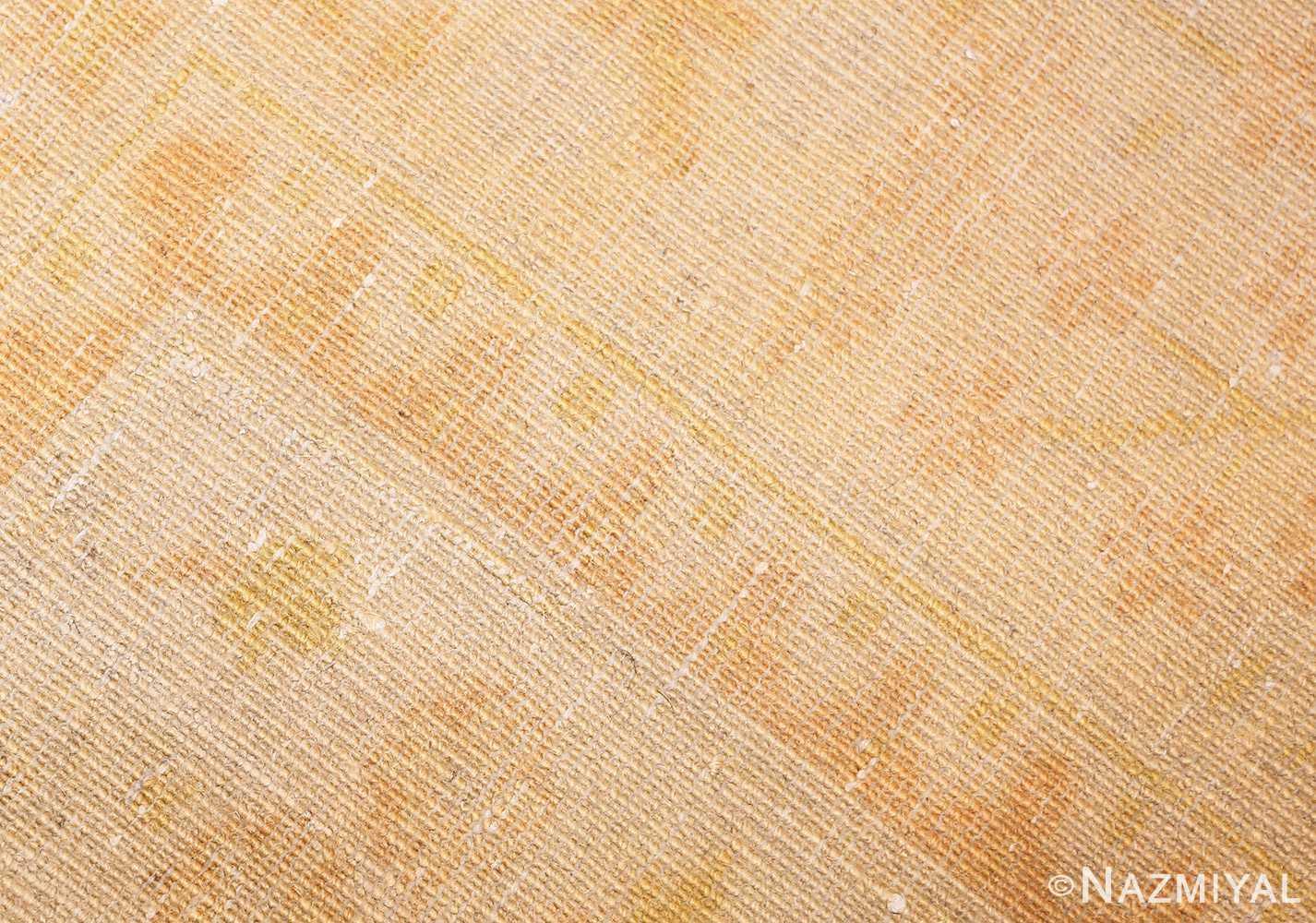 antique turkish oushak rug 48000 weave Nazmiyal
