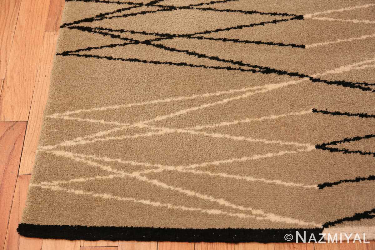 Corner Vintage Swedish rug by Aina Kange 48122 from the Nazmiyal antique rugs collection