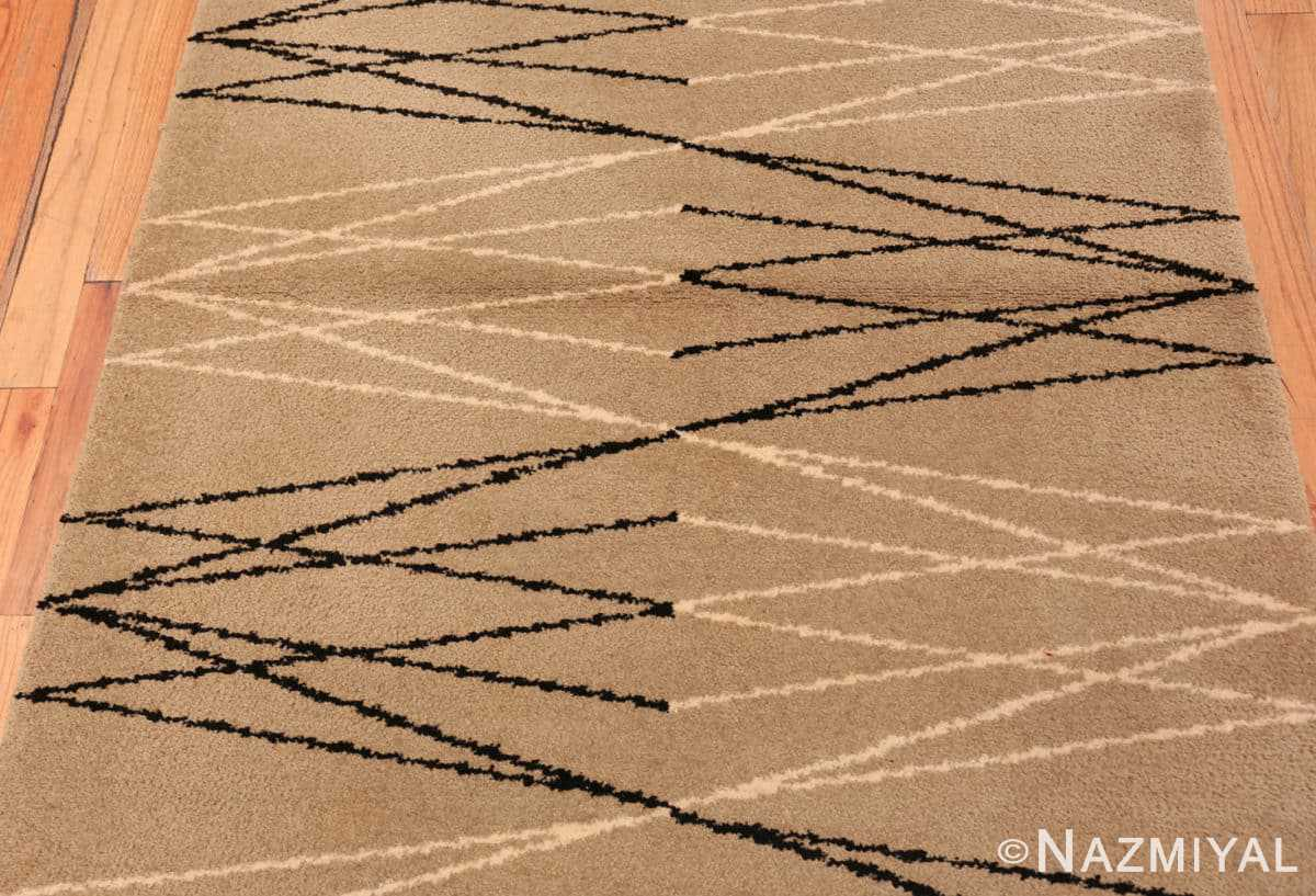 Field Vintage Swedish rug by Aina Kange 48122 from the Nazmiyal antique rugs collection