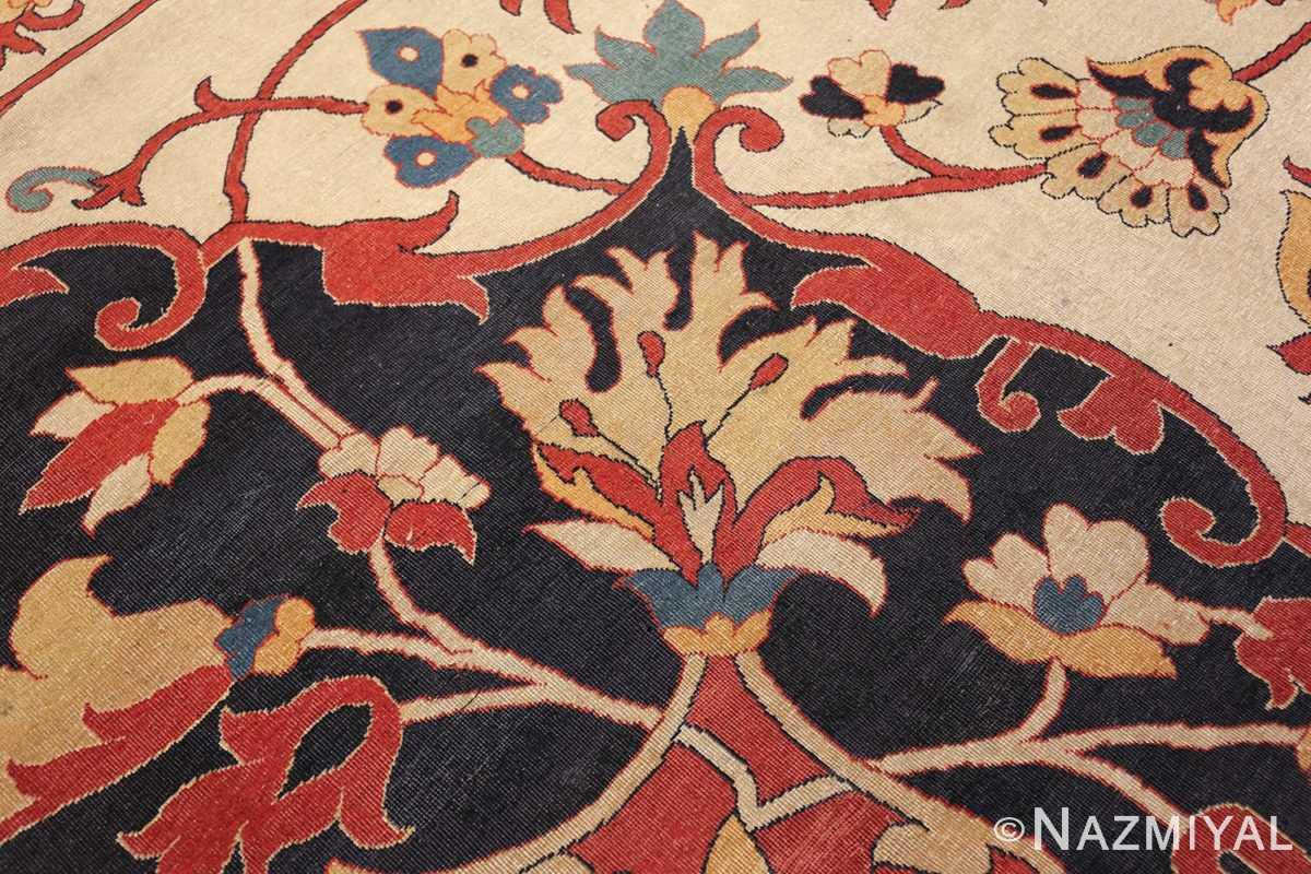 large oversized antique persian sarouk farahan carpet 46926 design Nazmiyal
