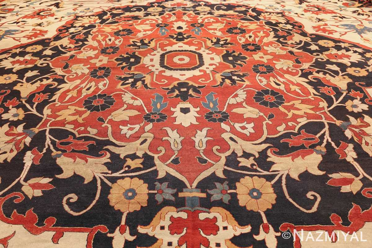 large oversized antique persian sarouk farahan carpet 46926 field Nazmiyal