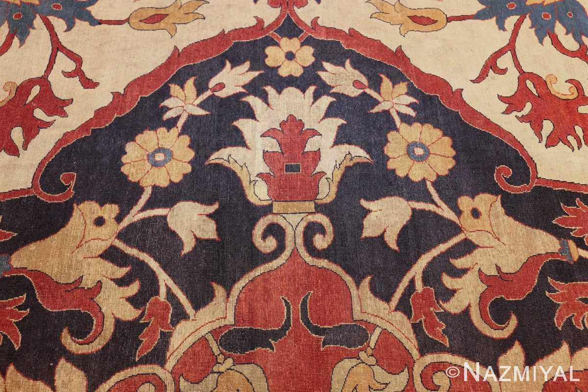 large oversized antique persian sarouk farahan carpet 46926 part Nazmiyal