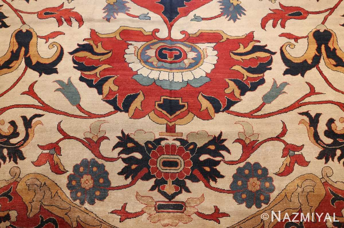 large oversized antique persian sarouk farahan carpet 46926 tiara Nazmiyal