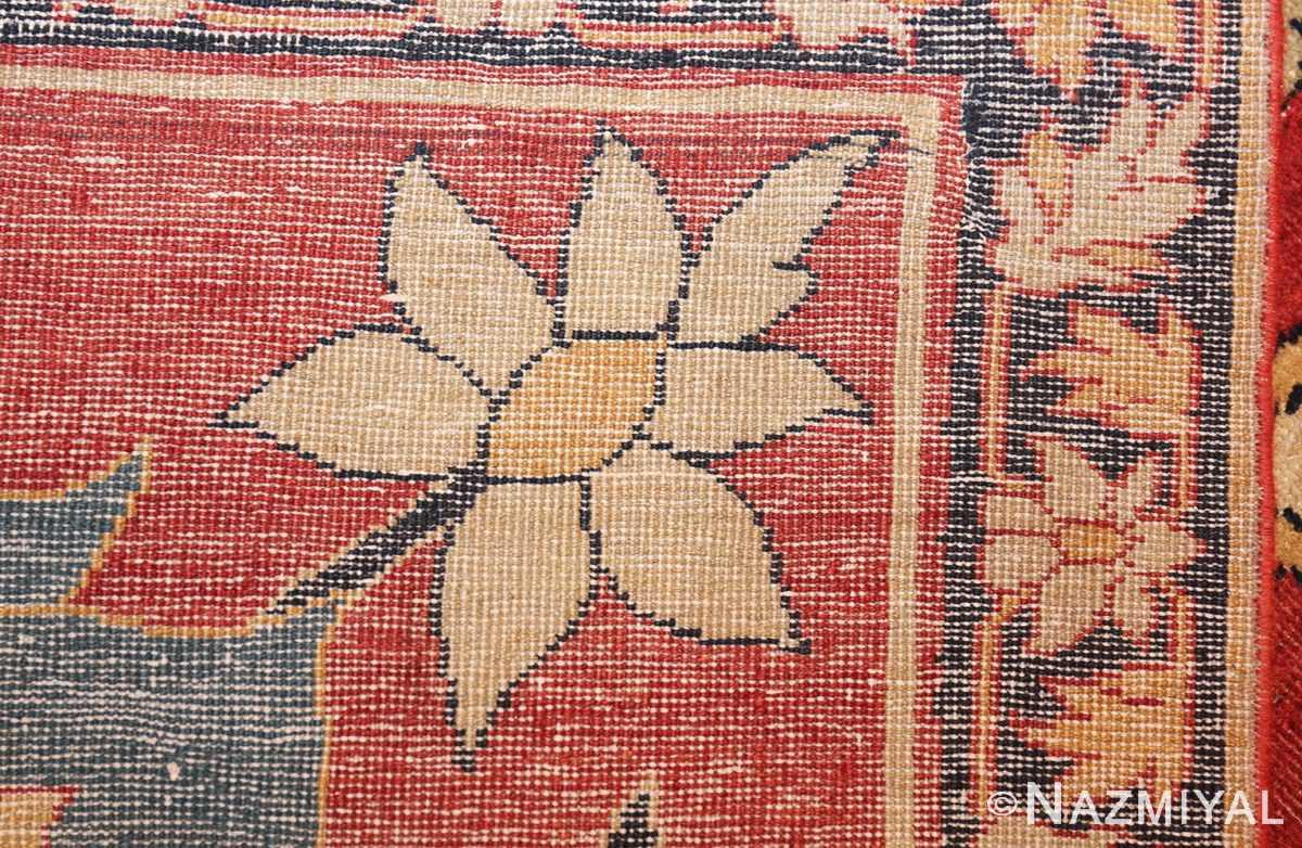 large oversized antique persian sarouk farahan carpet 46926 weave Nazmiyal