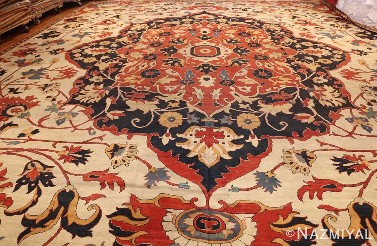 large oversized antique persian sarouk farahan carpet 46926 whole Nazmiyal