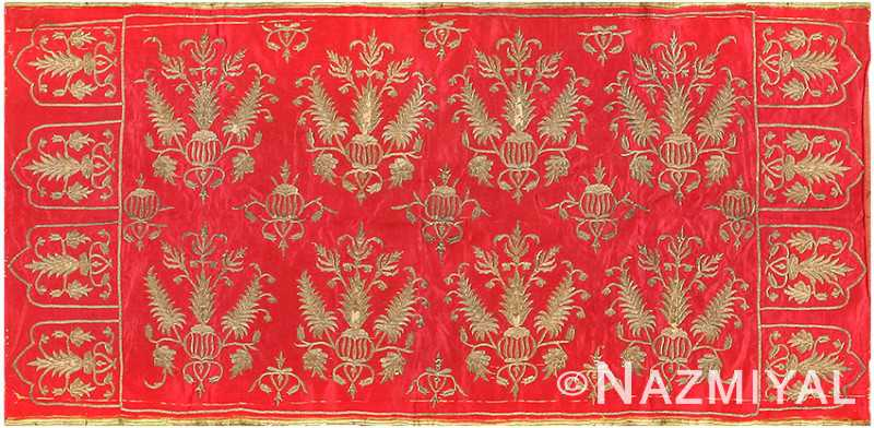 Persian Floral Antique Textile 3137 Nazmiyal