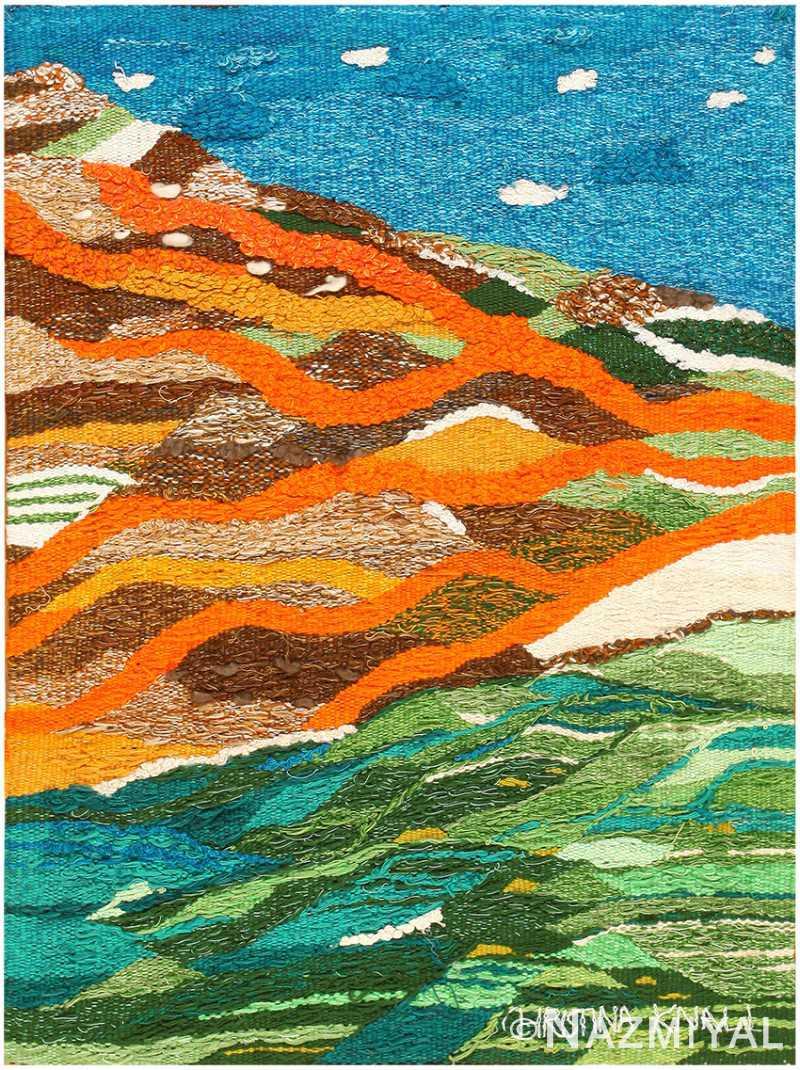 Scandinavian Tapestry by Christina Knall 48190 Nazmiyal