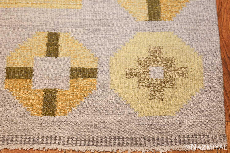 vintage barbro spinchorn swedish kilim rug 48188 corner Nazmiyal