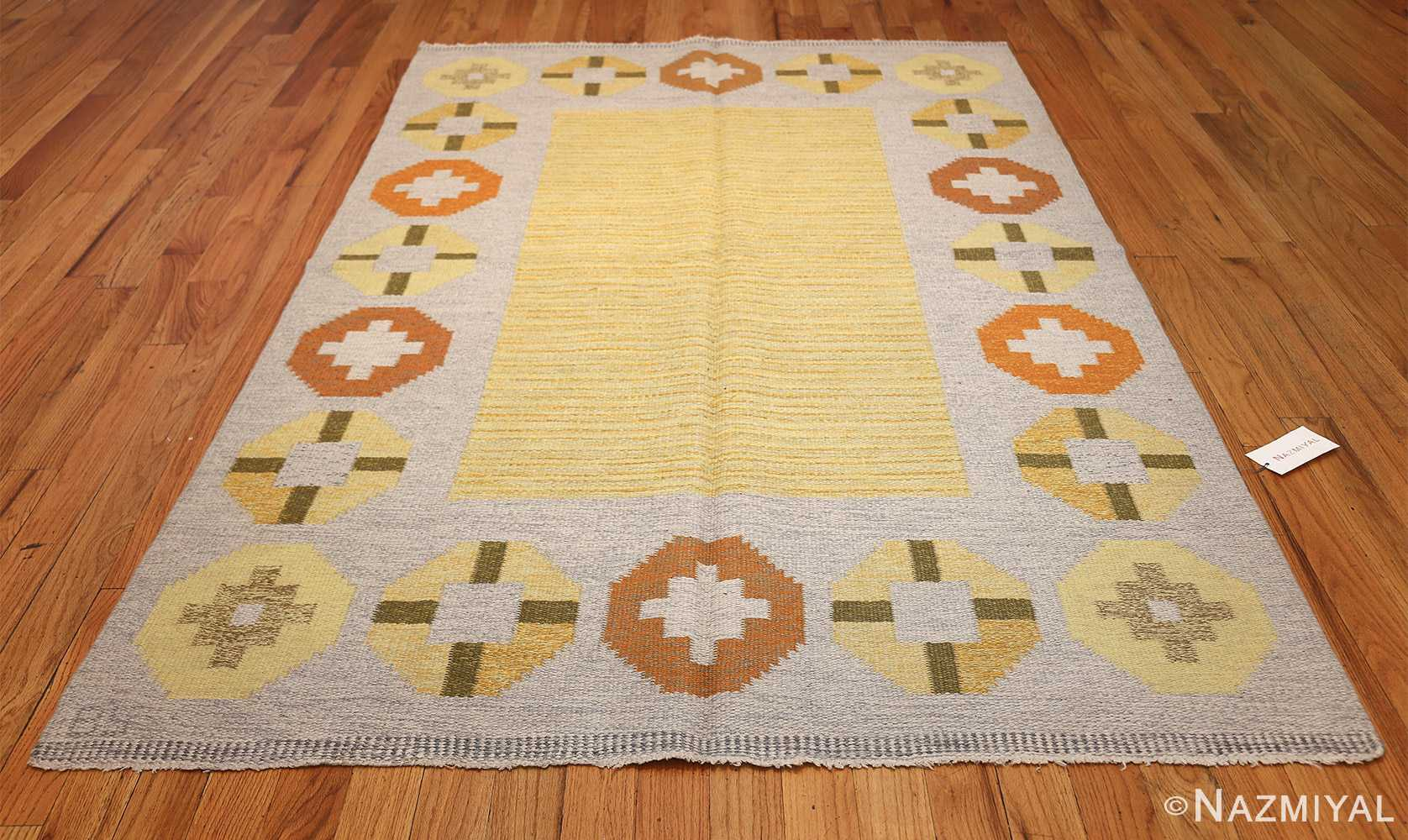 vintage barbro spinchorn swedish kilim rug 48188 whole Nazmiyal