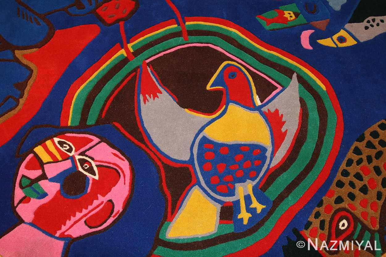 vintage round corneille rug 48201 birdie Nazmiyal