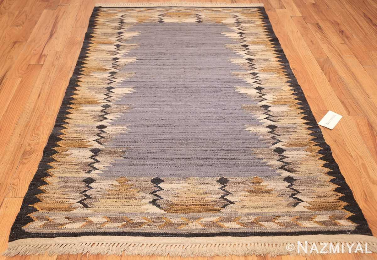 vintage swedish kilim 48200 whole Nazmiyal