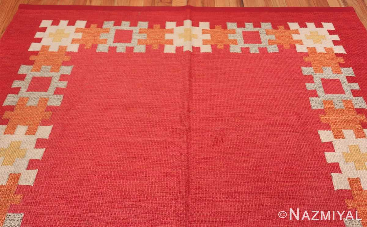 vintage swedish kilim by ingegerd silow 48189 top Nazmiyal