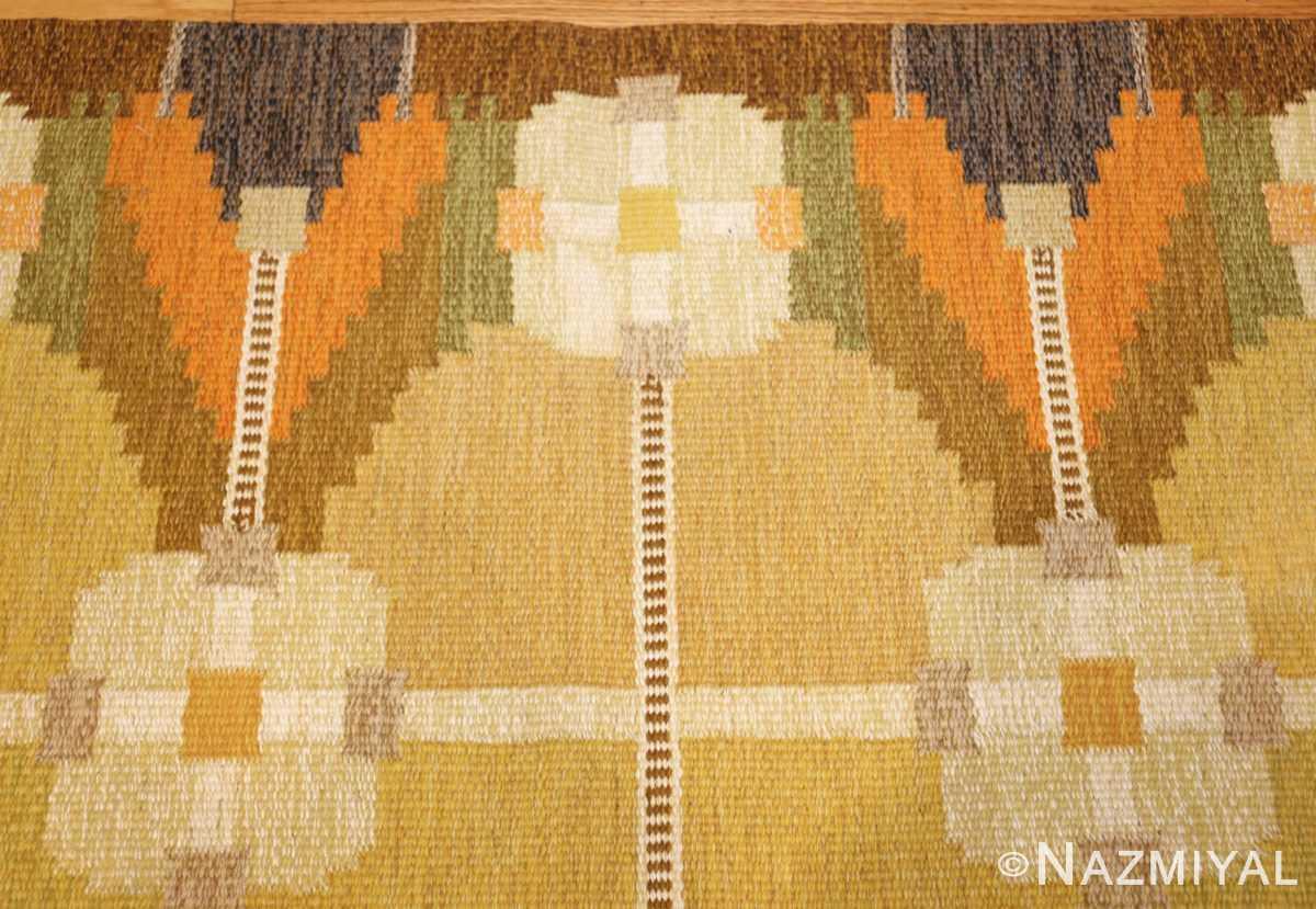 vintage swedish kilim by ingegerd silow 48198 border Nazmiyal