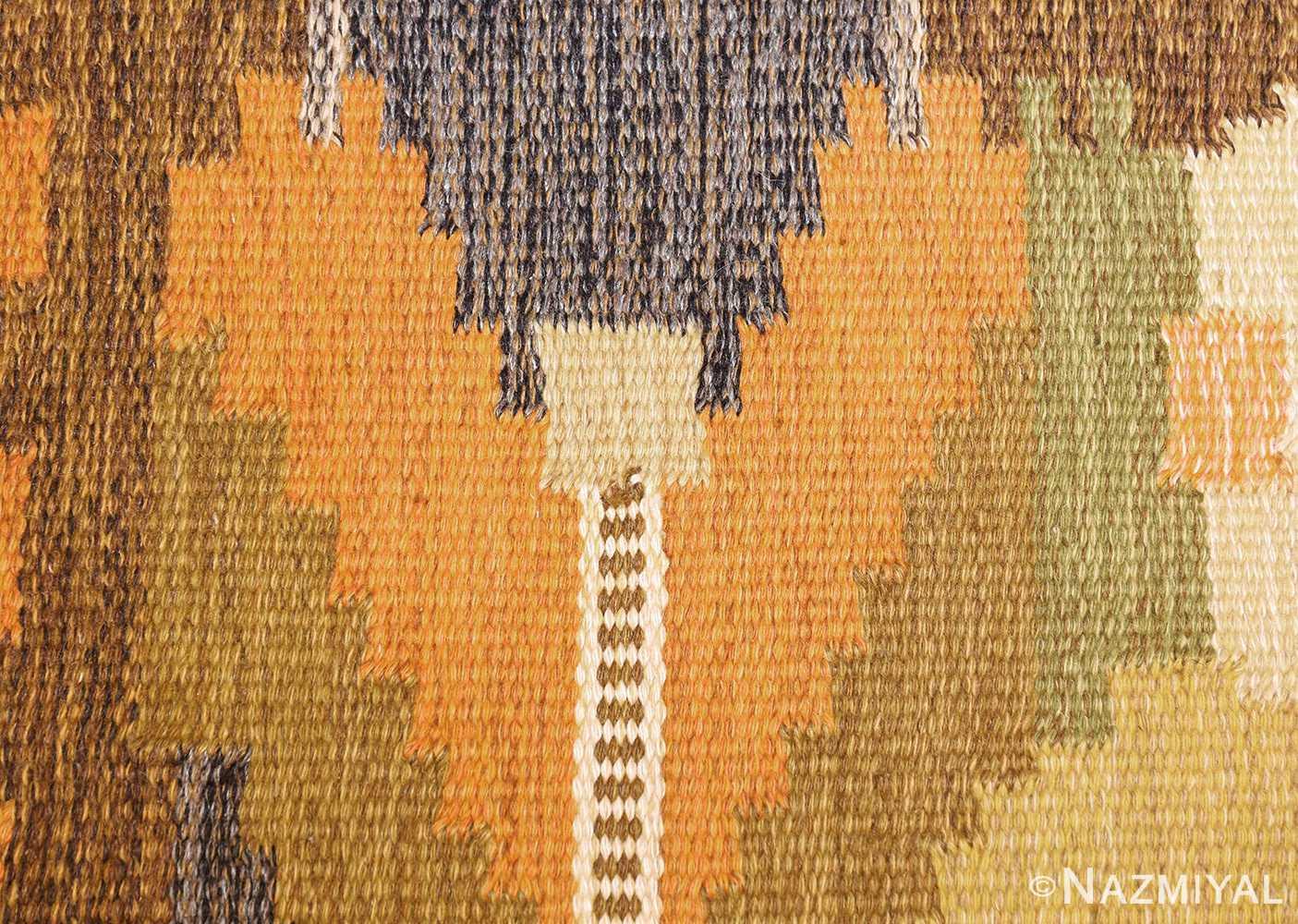 vintage swedish kilim by ingegerd silow 48198 colors Nazmiyal