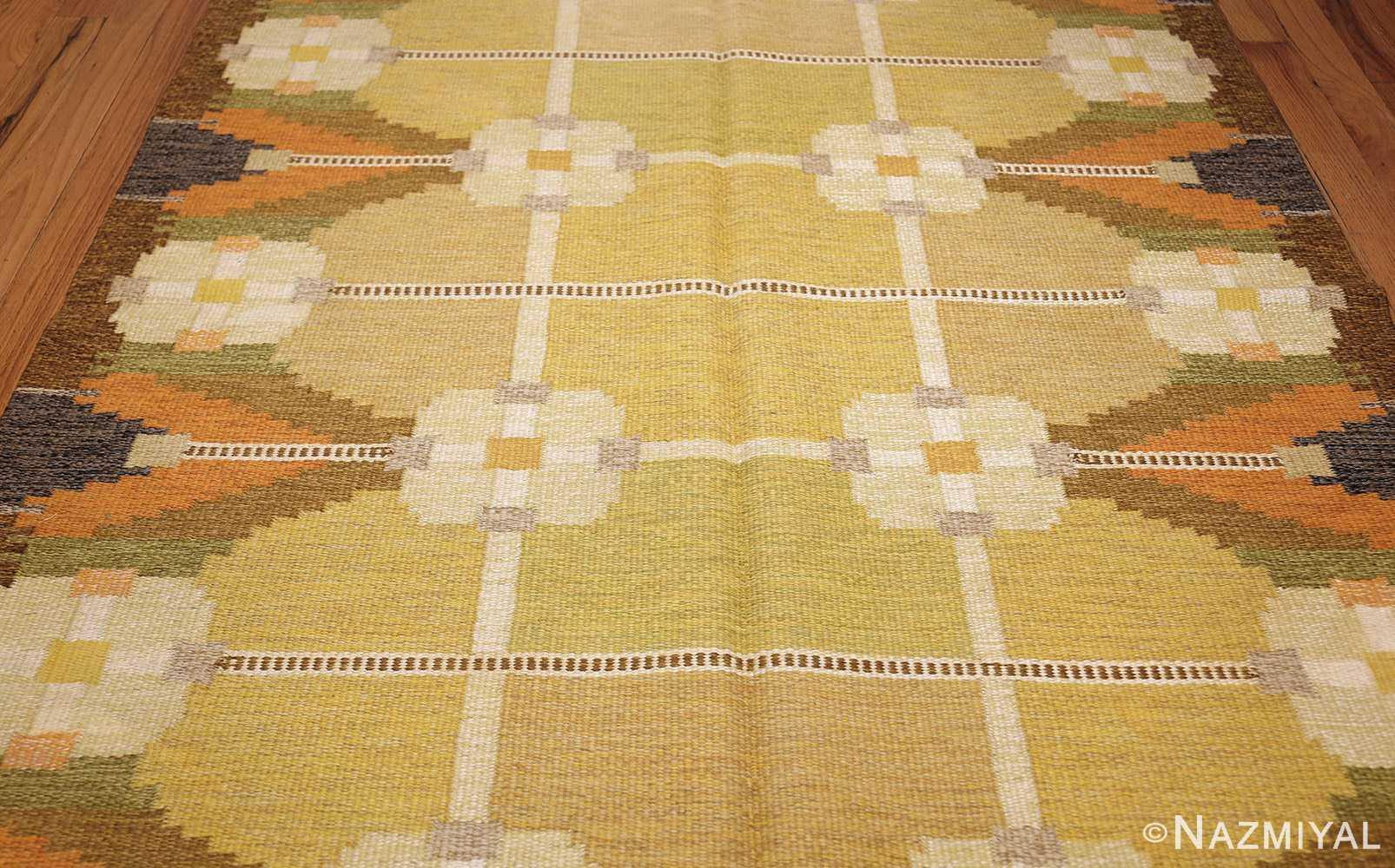 vintage swedish kilim by ingegerd silow 48198 field Nazmiyal