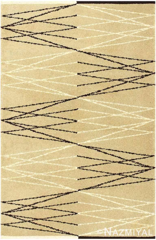 Vintage Swedish Rug by Aina Kange 48122 Detail/Large View