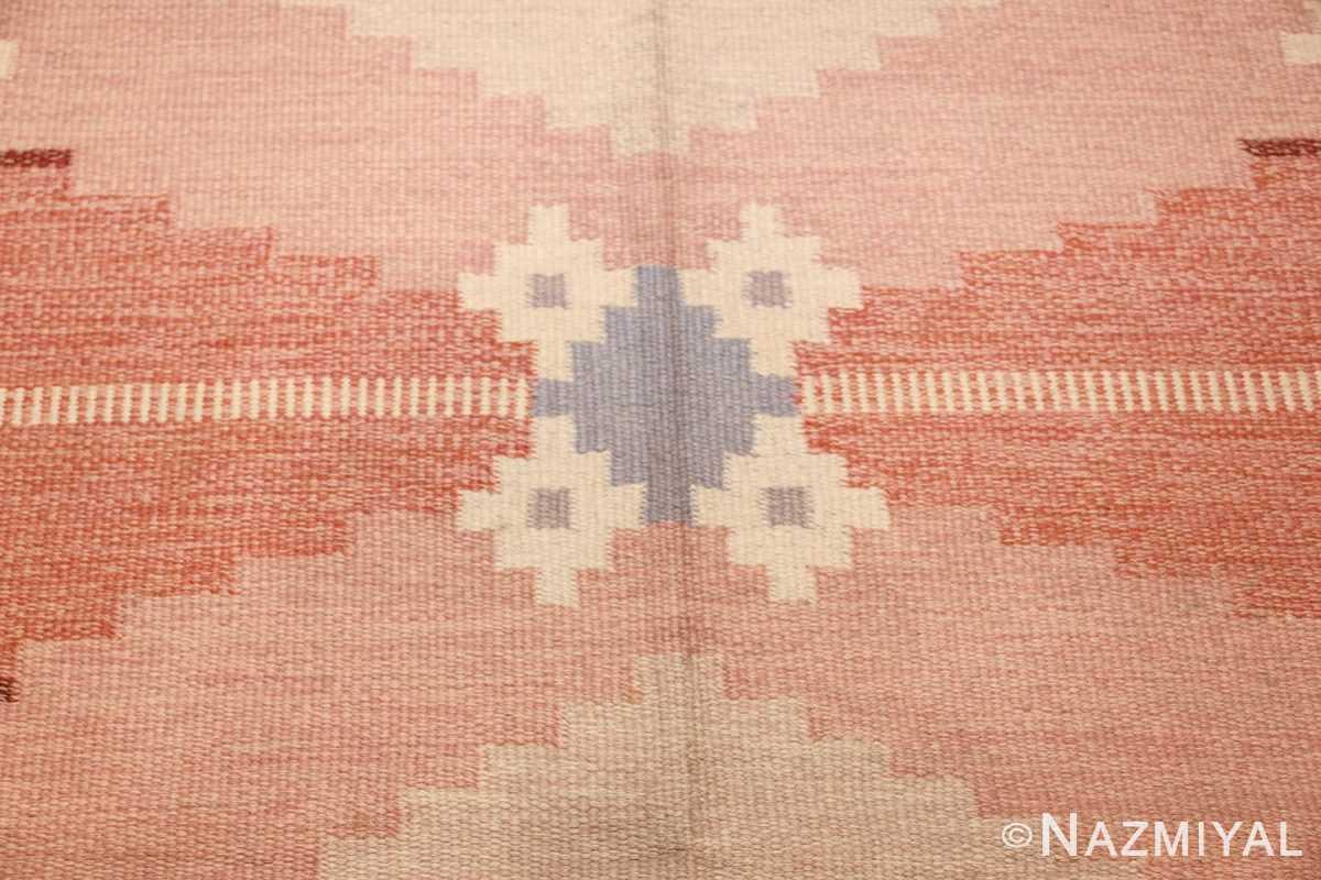 vintage swedish rug by ingegerd silow 48194 blue Nazmiyal