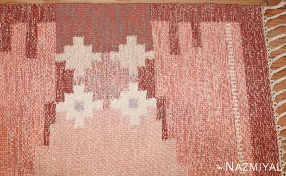 vintage swedish rug by ingegerd silow 48194 corner Nazmiyal