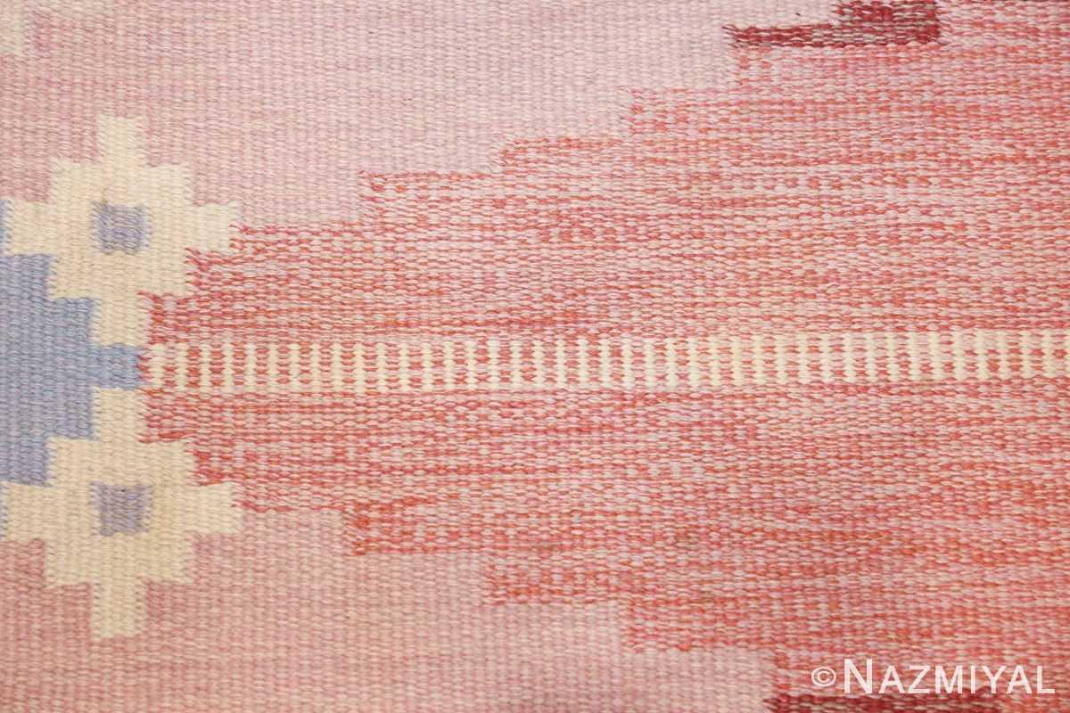 vintage swedish rug by ingegerd silow 48194 geometric Nazmiyal