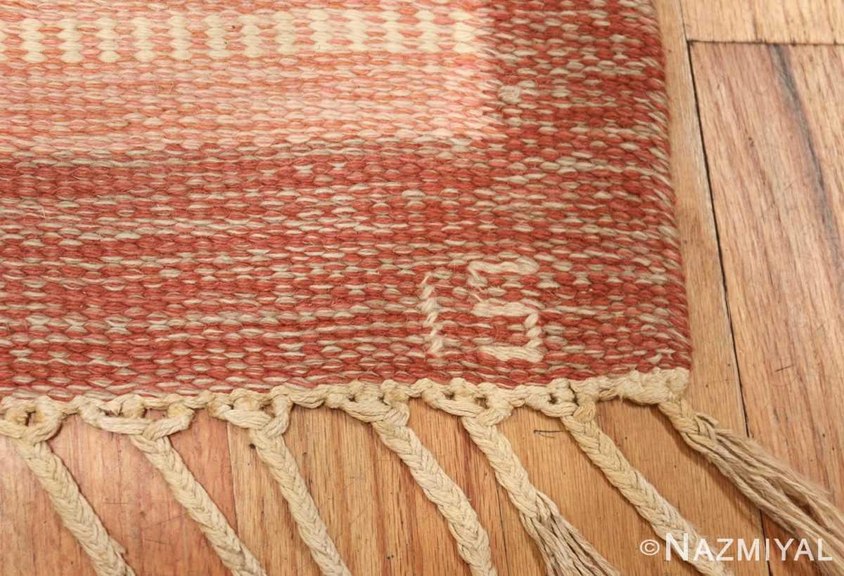 vintage wedish rug by ingegerd silow 48194 signature Nazmiyal