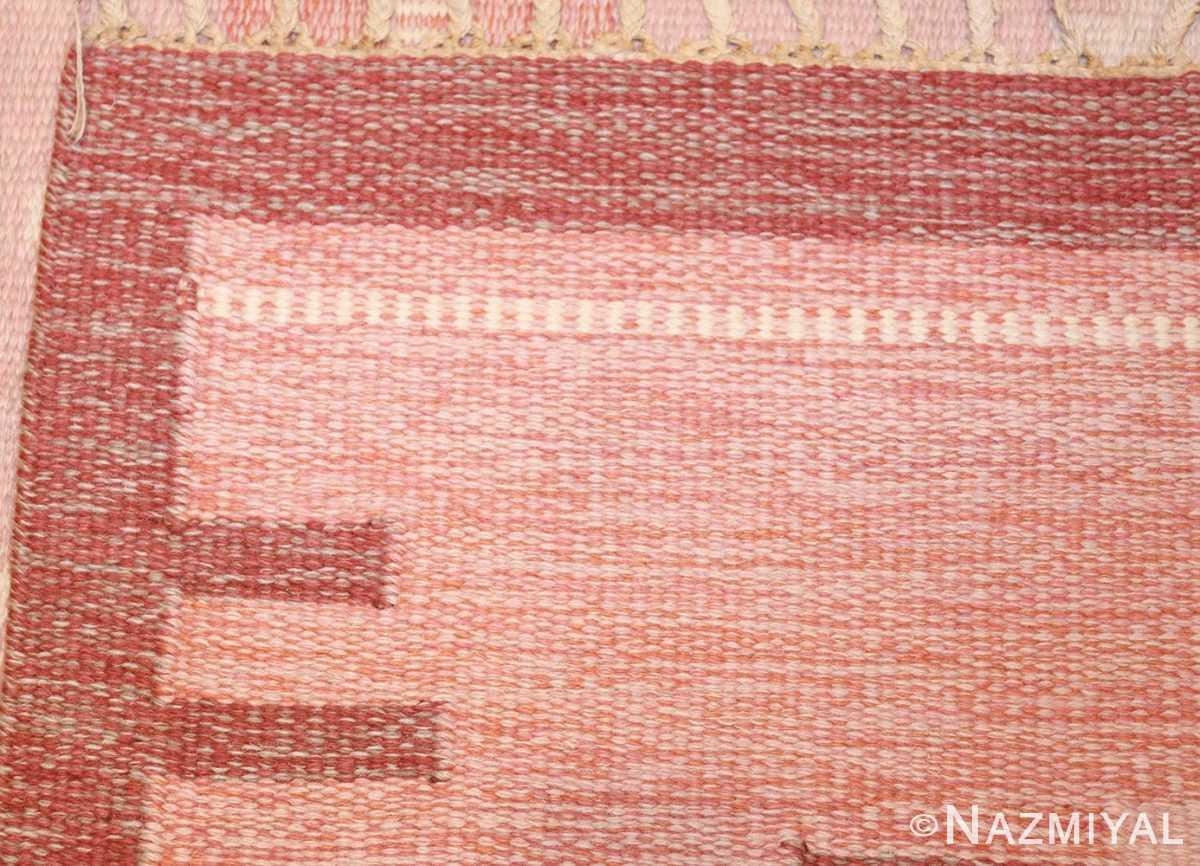 vintage swedish rug by ingegerd silow 48194 weave Nazmiyal