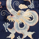 Antique Chinese Rug #45153