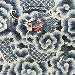 Antique Dragon Chinese Rug 47762