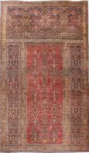 Antique Oversized Persian Kerman Carpet 48210 Nazmiyal