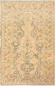 Antique Silk Persian Textile 8386 Detail/Large View