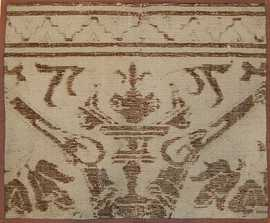 16th Century Antique Spanish Alcaraz Carpet Fragment 3430 by Nazmiyal