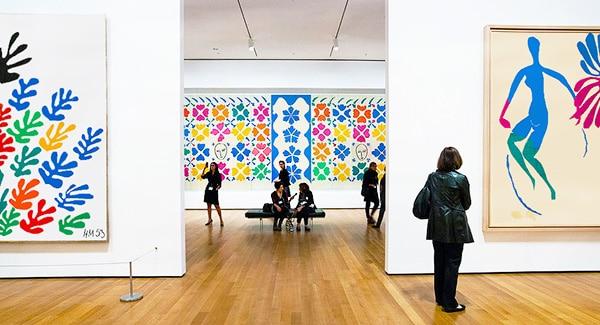Henri Matisse Cut Outs At The MOMA by Nazmiyal