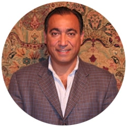Picture of Jason Nazmiyal - Antique Rug Expert And Owner Of The Nazmiyal Collection Antique Carpet gallery In New York City