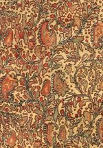 Paisley Design in Antique Persian Senneh Rug 47230