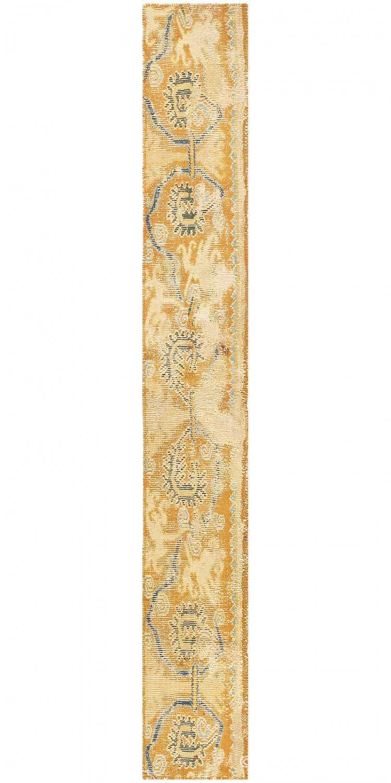 16th Century Antique Spanish Rug Fragment 3432 Nazmiyal