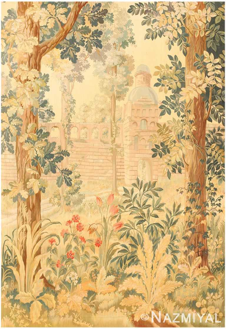 Antique French Tapestry 46939 by Nazmiyal Antique Rugs in NYC