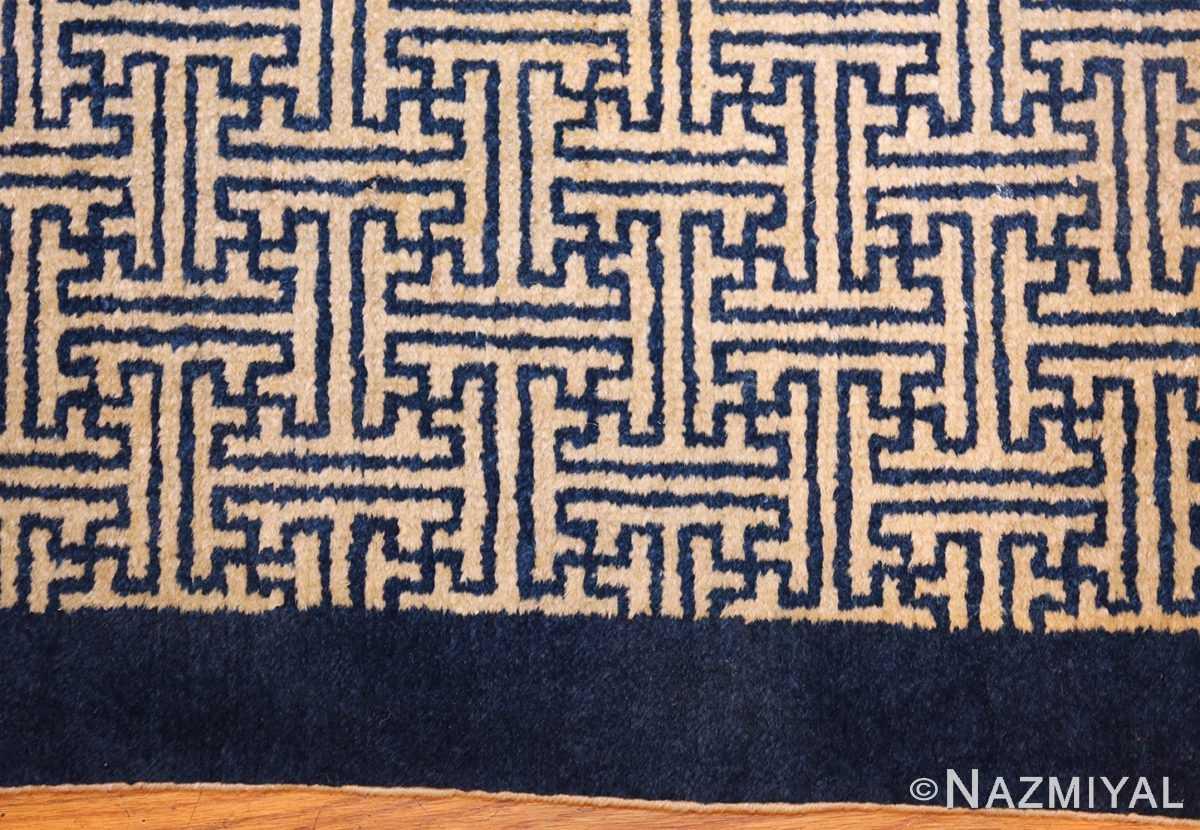antique chinese rugs 48181 and 48182 border Nazmiyal