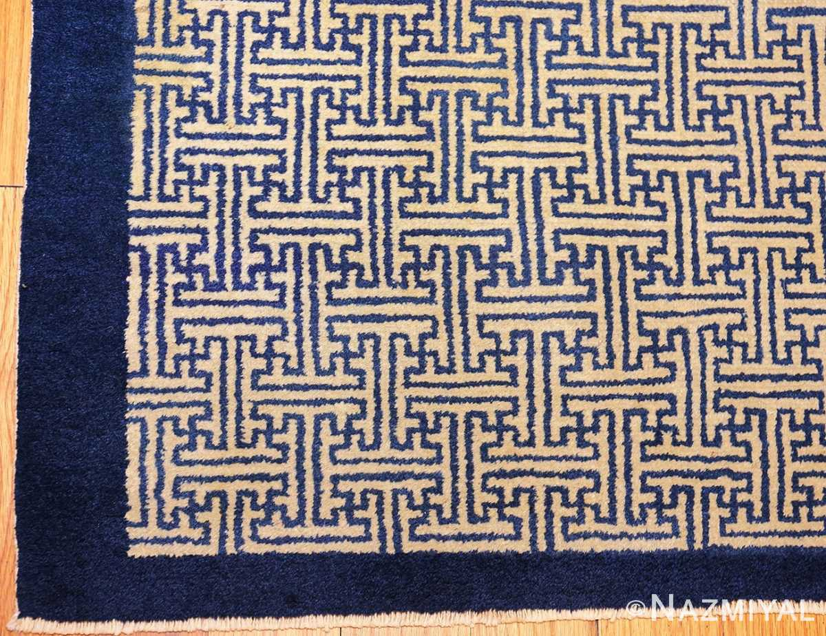 antique chinese rugs 48181 and 48182 corner Nazmiyal