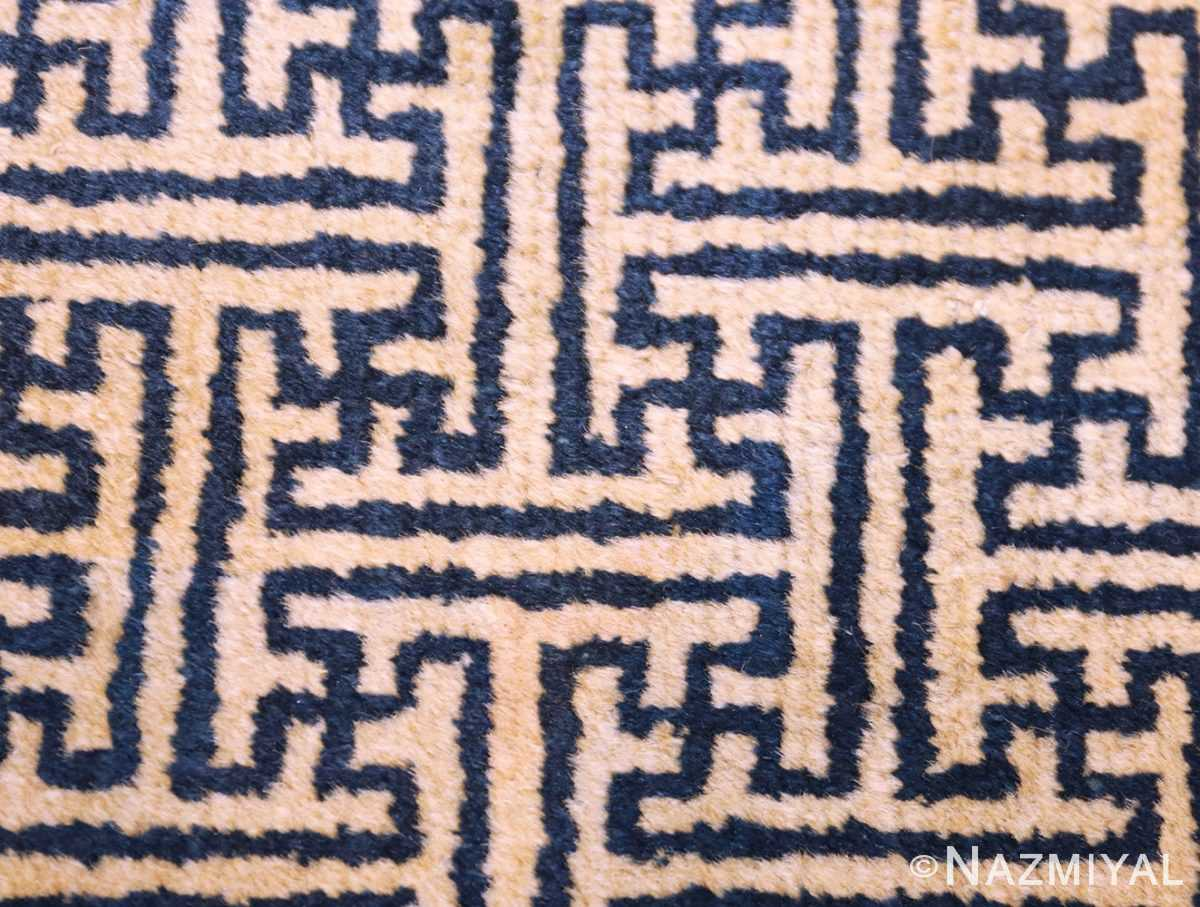 antique chinese rugs 48181 and 48182 field Nazmiyal