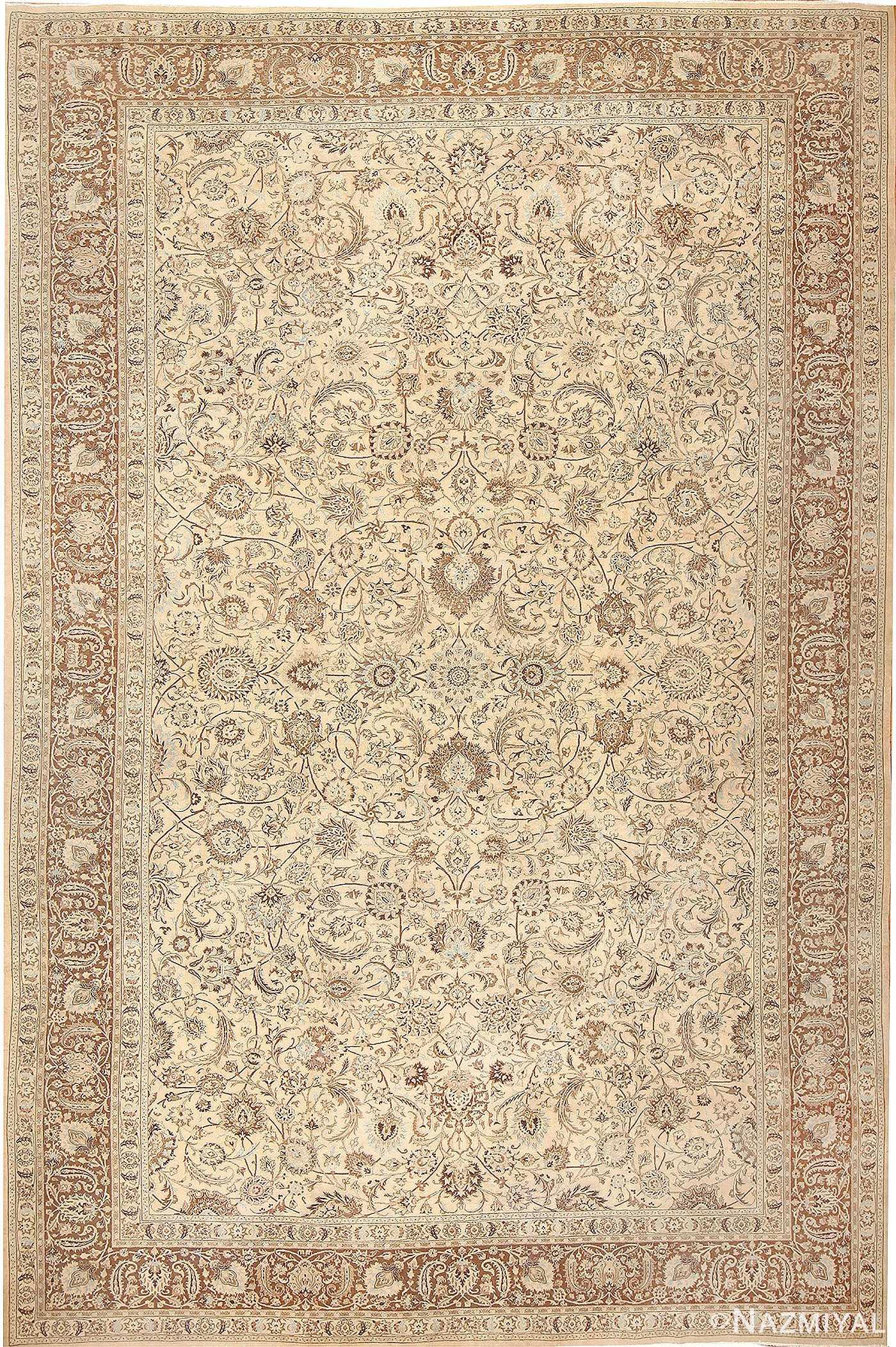 Antique Khorassan Persian Rug #41975 Nazmiyal