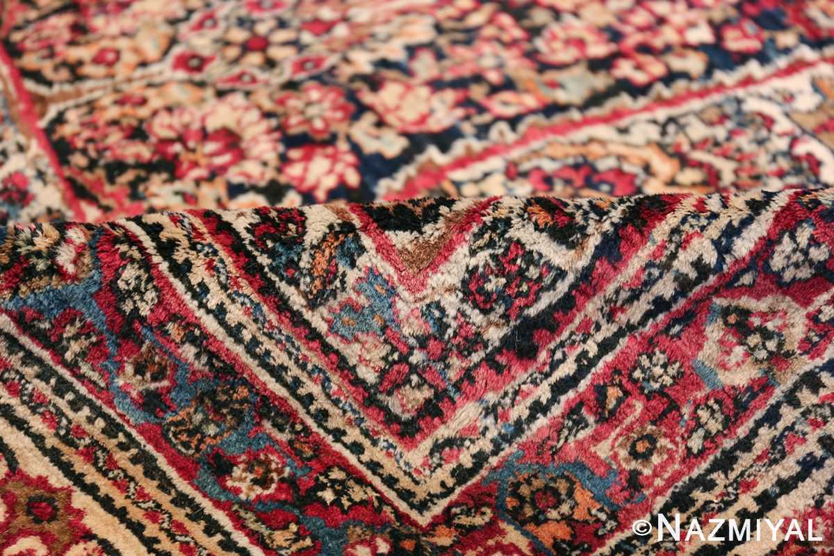Antique Oversized Persian Kerman Carpet 48210 Floral Pile Nazmiyal