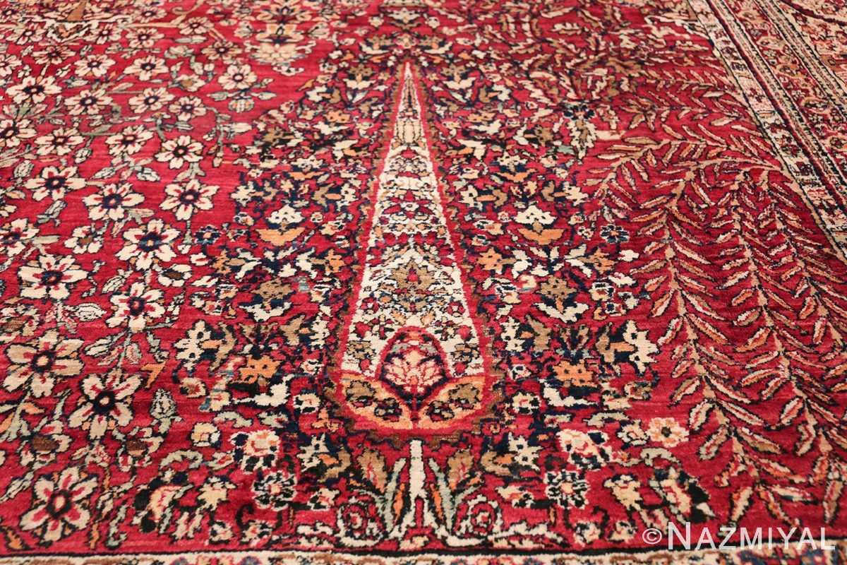 Antique Oversized Persian Kerman Carpet 48210 Lower Pine Nazmiyal