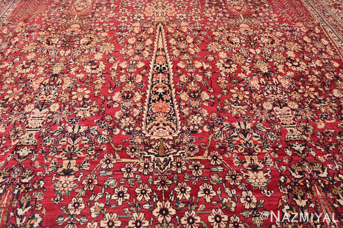 Antique Oversized Persian Kerman Carpet 48210 Middle Design Nazmiyal