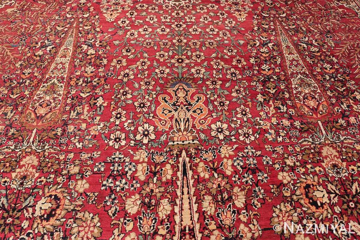 Antique Oversized Persian Kerman Carpet 48210 Trio Middle Nazmiyal
