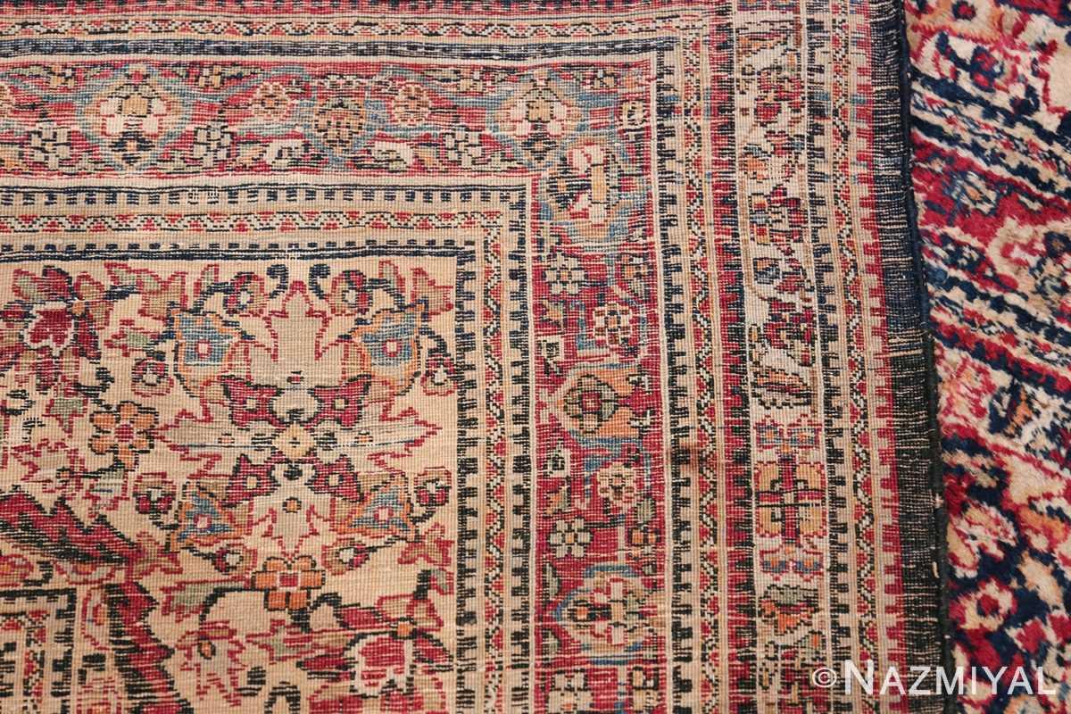 Antique Oversized Persian Kerman Carpet 48210 Woven Knots Nazmiyal