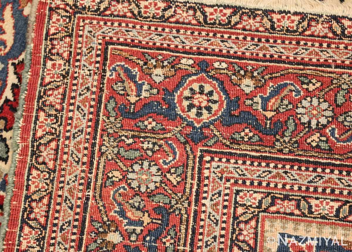 antique persian khorassan rug 47493 weave Nazmiyal