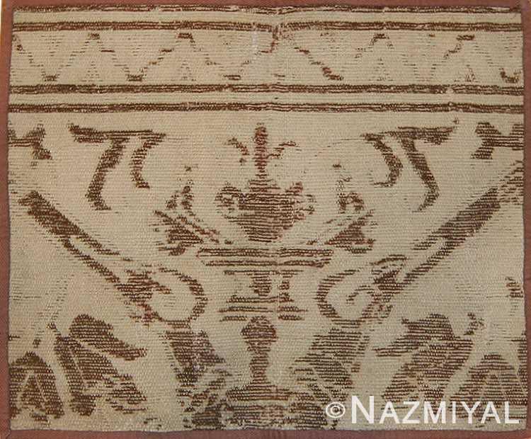 16th Century Antique Spanish Alcaraz Carpet Fragment 3430 by Nazmiyal