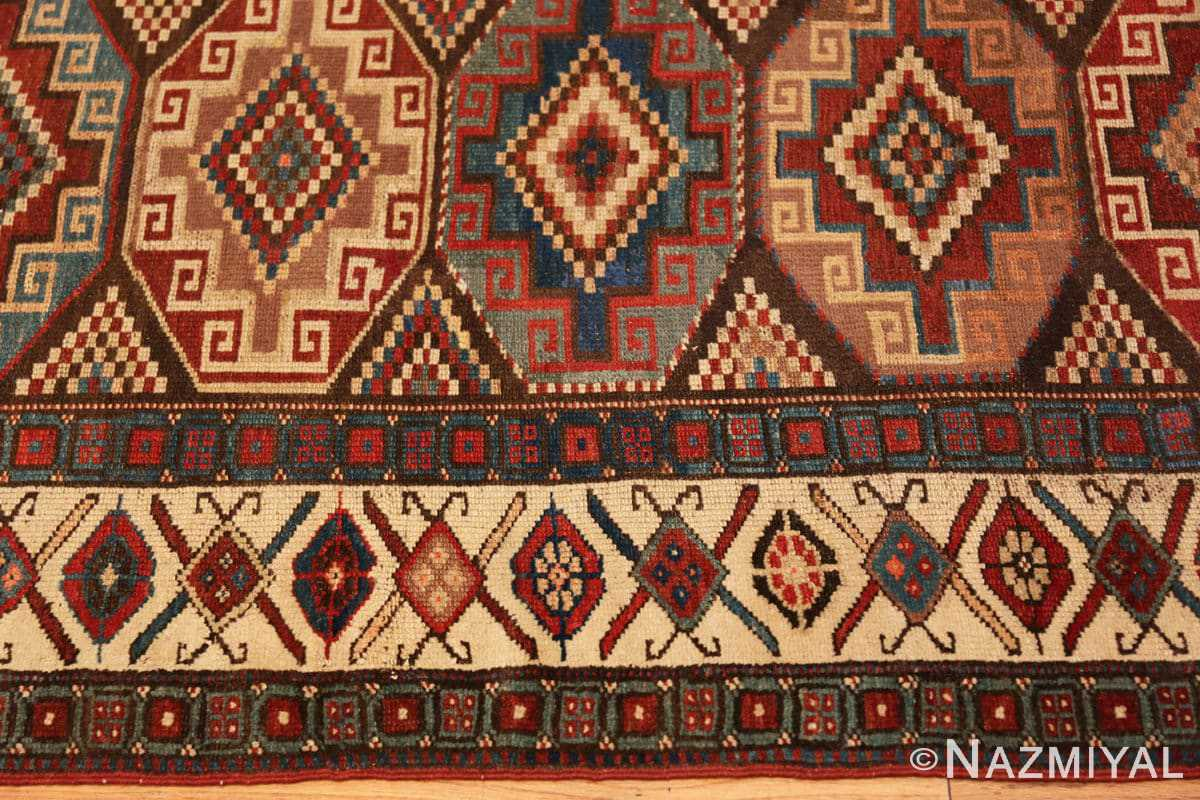 Border Antique Northwest Persian runner rug 47536 by Nazmiyal