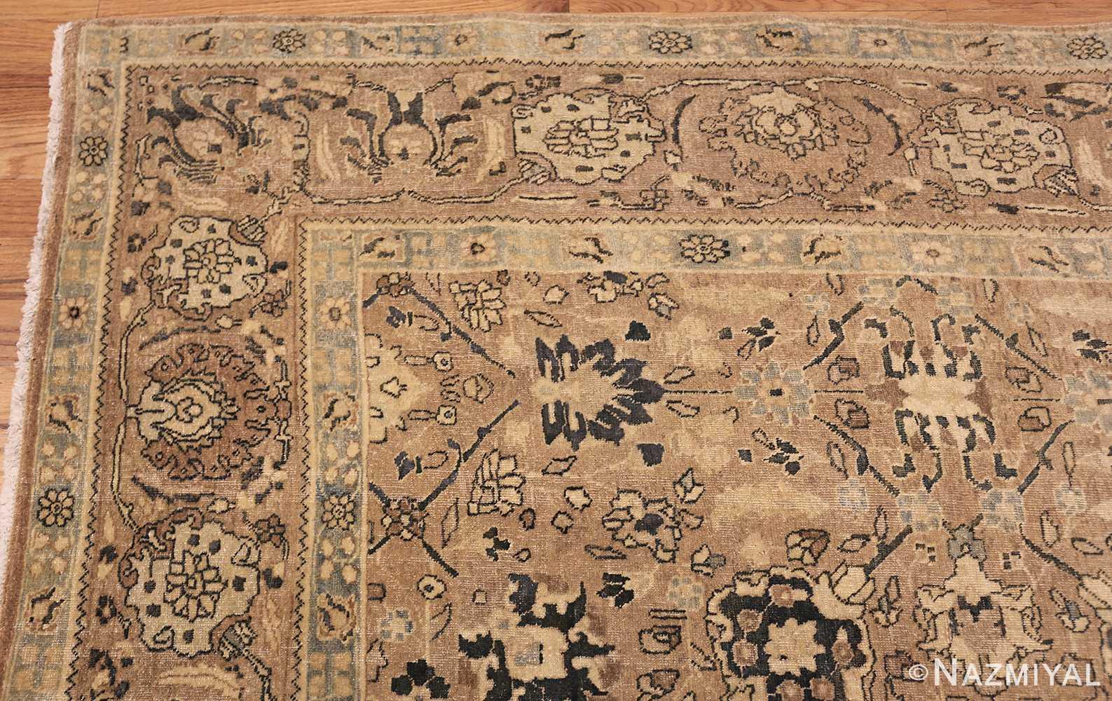 room size antique persian khorassan carpet 48126 corner Nazmiyal