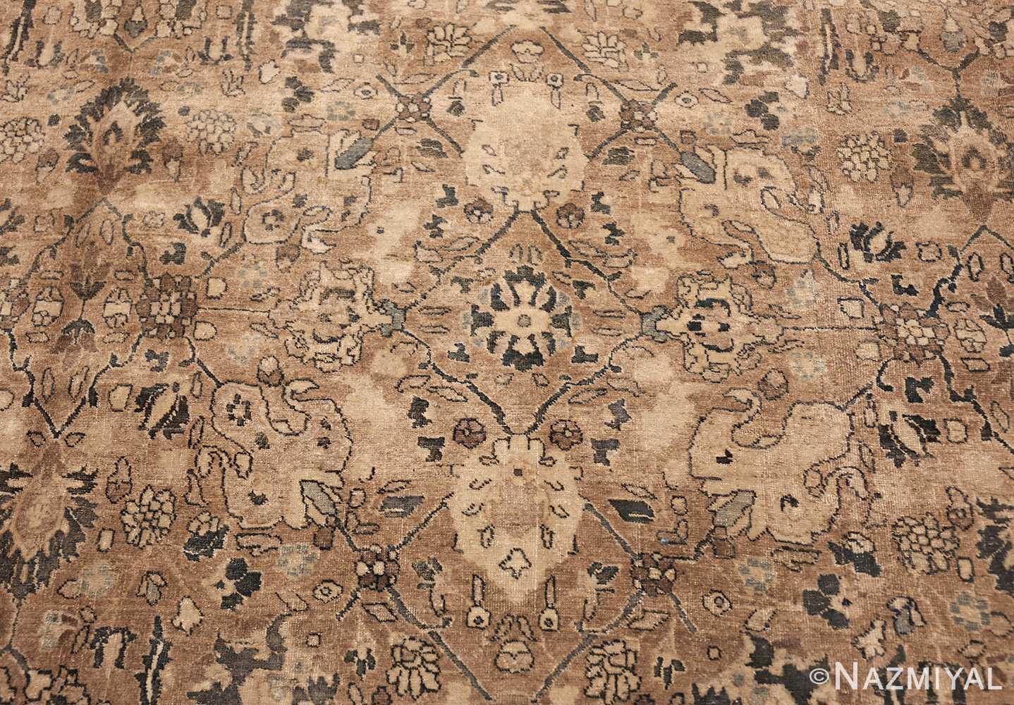 room size antique persian khorassan carpet 48126 flower Nazmiyal