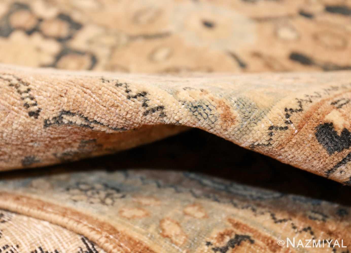 room size antique persian khorassan carpet 48126 pile Nazmiyal